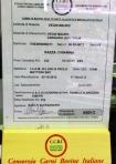 AeG macelleria montalcino Etichettatura Carni Bovine