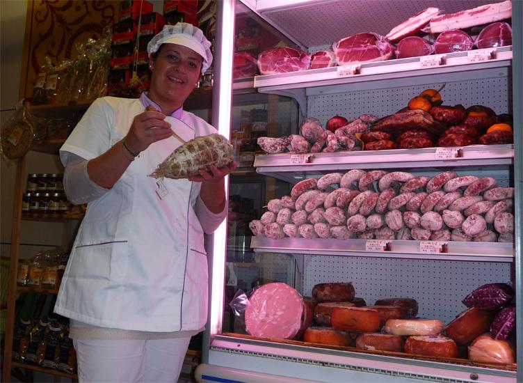 AeG Macelleria montalcino frigo salumi - Sonia