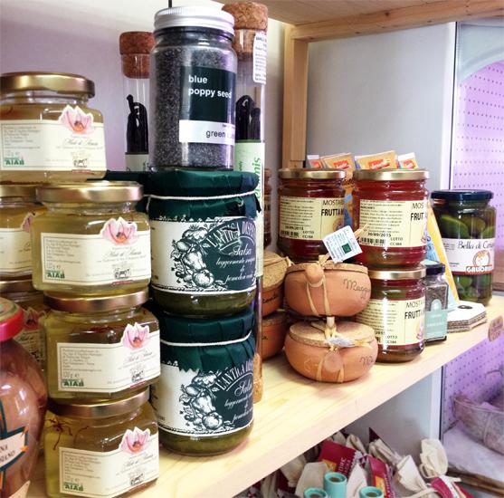 AeG Macelleria Montalcino gastronomia miele